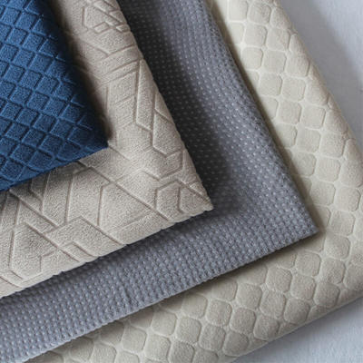 100% Polyester Embossed Fabric For Auto Seat Cover