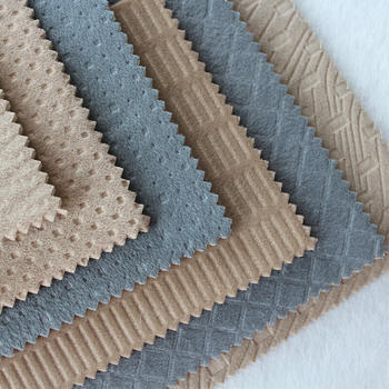 Polyester Embossed Bonded Fabric For Auto Seat Cover