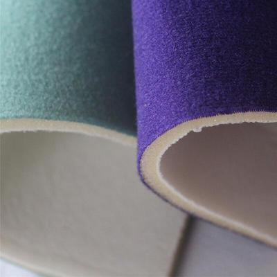 Foam Bonded Terry Fabric Or Loop Fabric Velvet Fabric