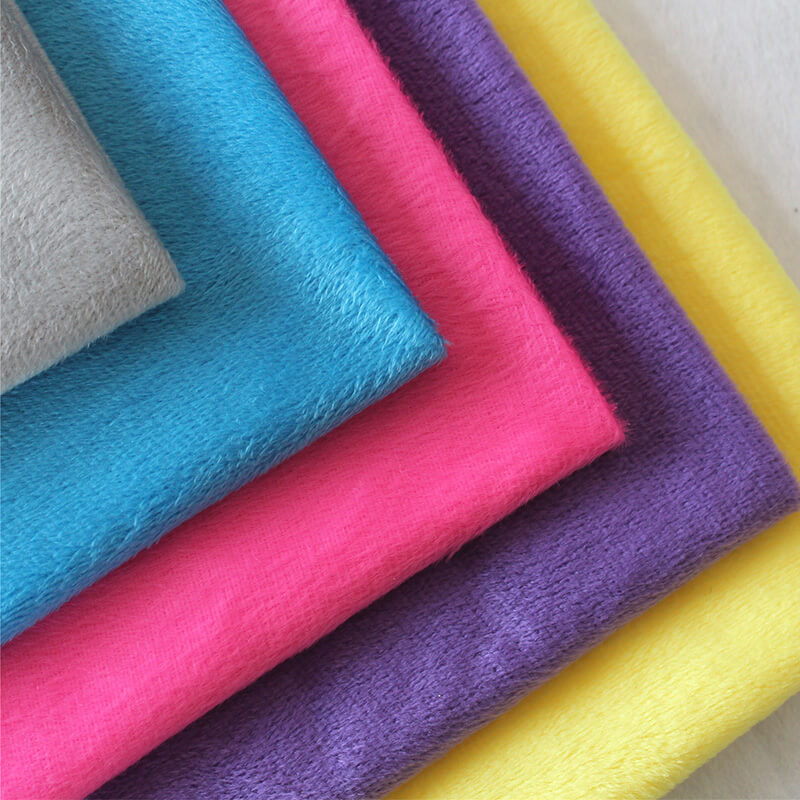 High Quality Imitation Super Soft Velvet fabric