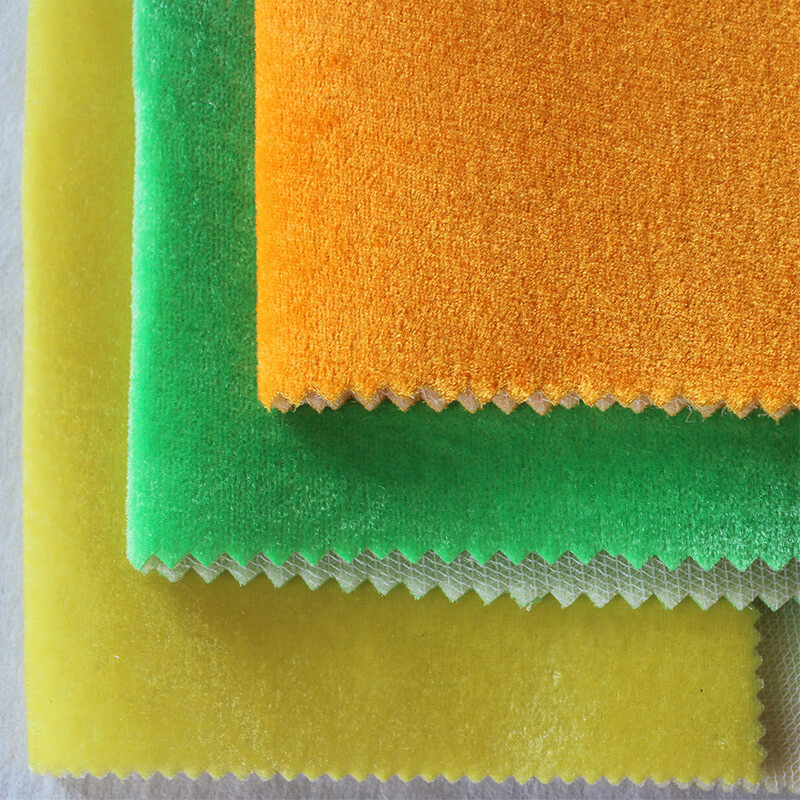 Dense Velvet Fabric Or Dense Velour Fabric For Toy