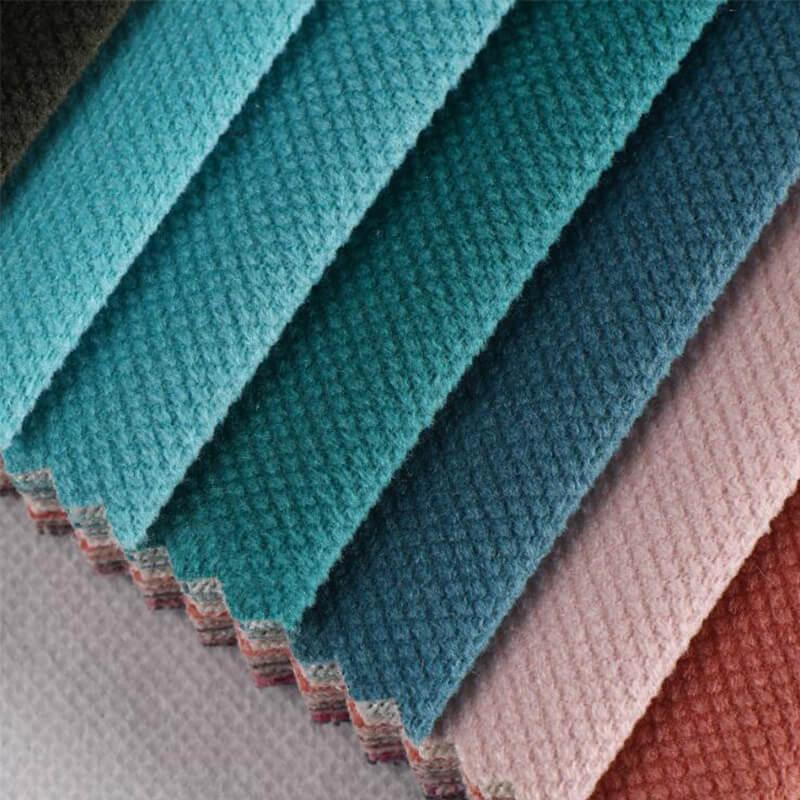 Velour Fabric Or Holland Velvet Sofa Fabric