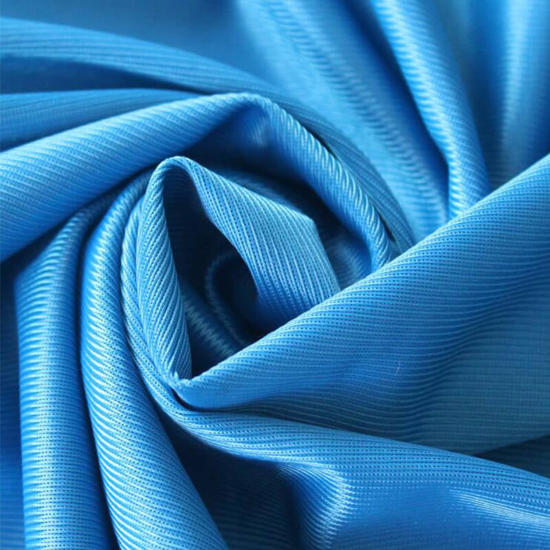 High Quality Mercerized Cloth Polyester Knitted Fabric For Lining