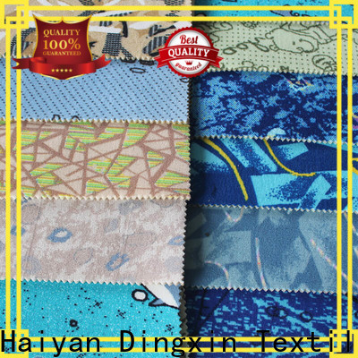 Dingxin ceramic fabric cloth factory for bus seat