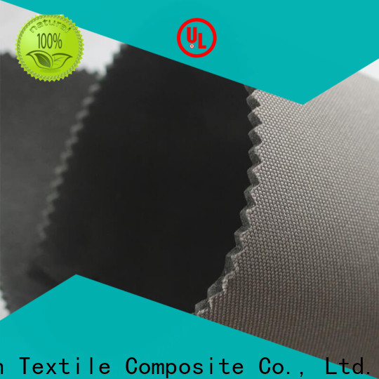 Dingxin High-quality bonded cuddle fabric Supply for making bags