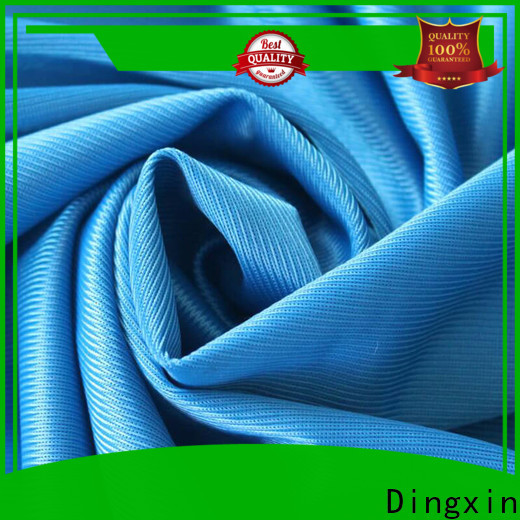 Dingxin Wholesale double sided knit fabric company for making T-shirts