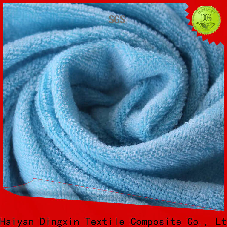 Dingxin High-quality white knit fabric Supply for making T-shirts