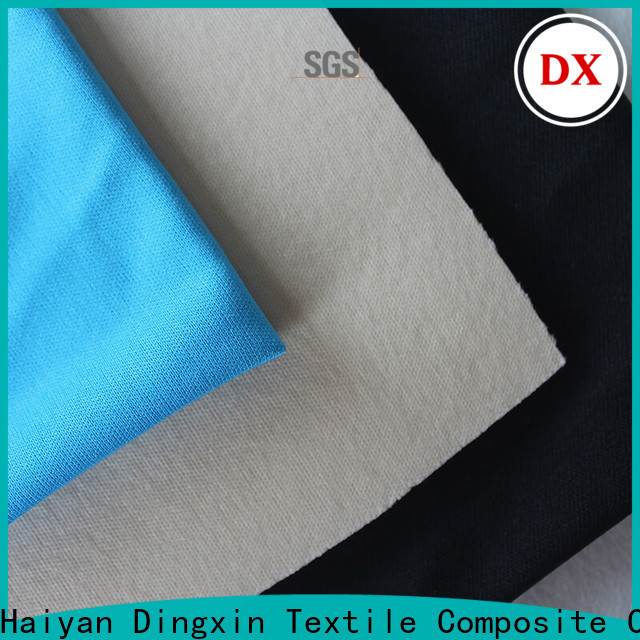 Dingxin solid knit fabric company for making pajamas