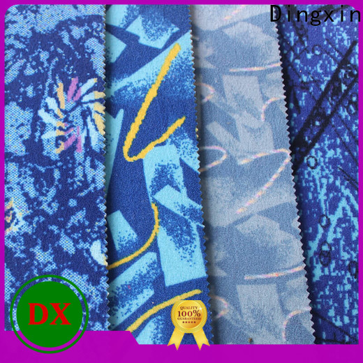 Dingxin Custom super stretchy fabric Suppliers for car seat