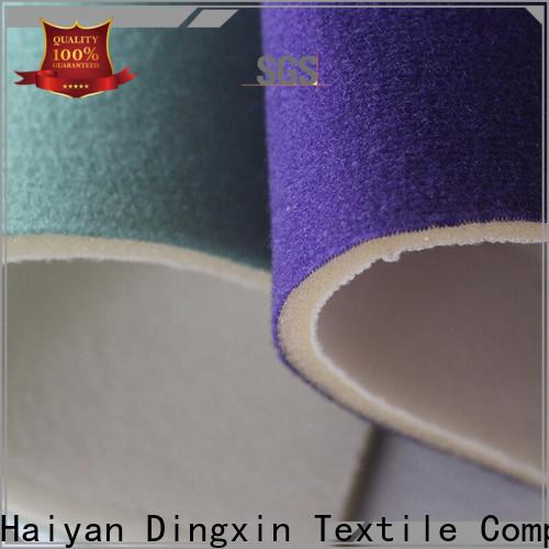 Dingxin Custom cotton velour fabric Supply used to make sofa cushion