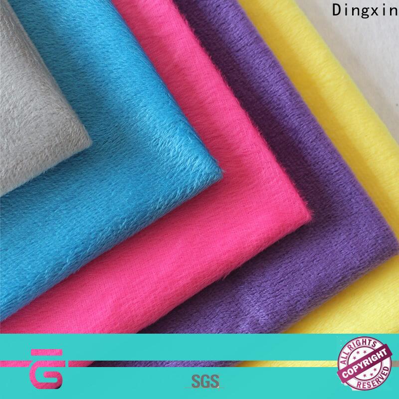 Dingxin navy velvet upholstery fabric Supply used to make sofa cushion