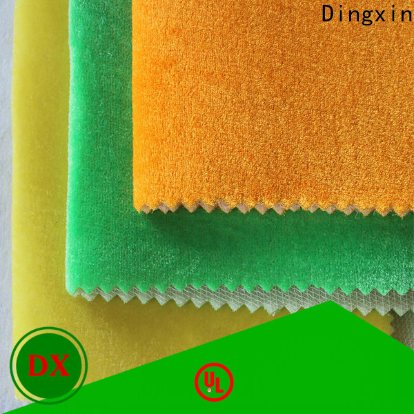 Dingxin New velvet furnishing fabric Suppliers for seat cover