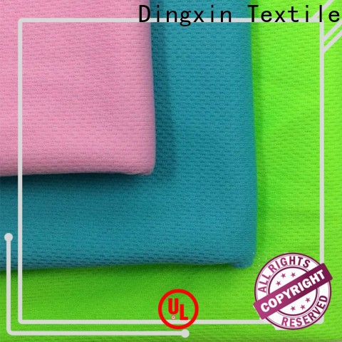 Dingxin yellow knit fabric factory for making pajamas