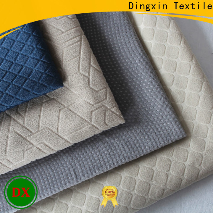 Dingxin micro chenille fabric Suppliers for bus manufacturers