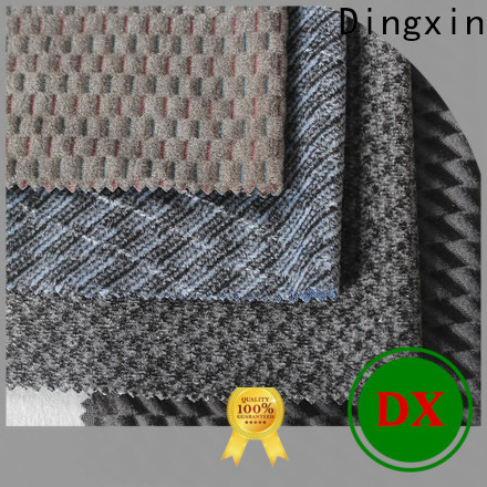Dingxin fabric rosettes for sale Supply for bus seat