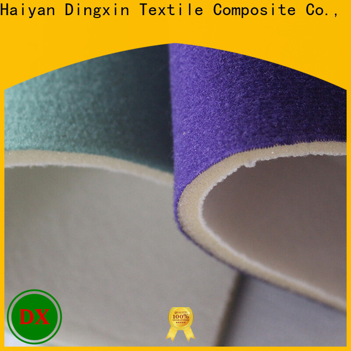 Dingxin matte velvet fabric for business used to make sofa cushion