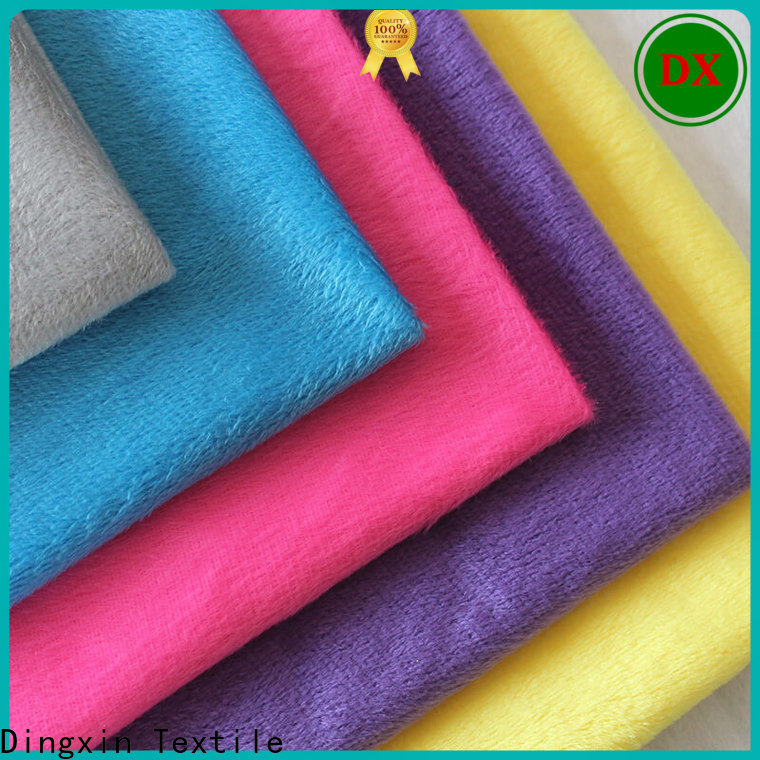 Dingxin Best velvet fabric uk Supply for sofa