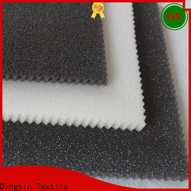 Dingxin bonded knit fabric characteristics company for making tents