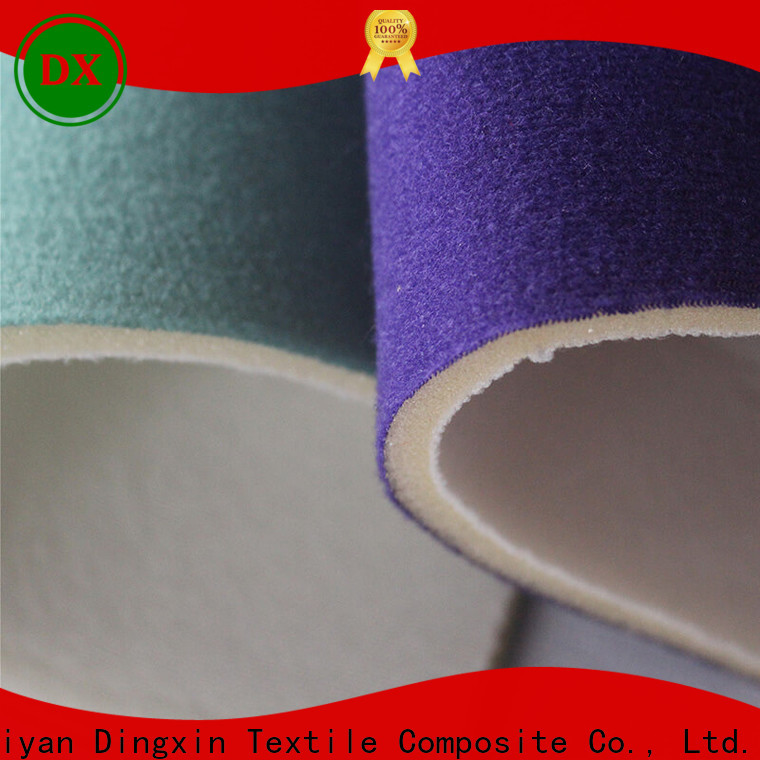 Dingxin New blue velour fabric Suppliers for making home textile
