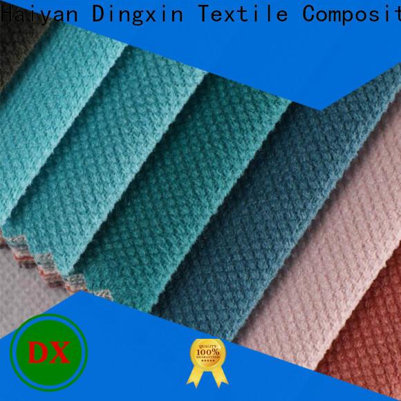 New polyester velvet fabric company for sofa