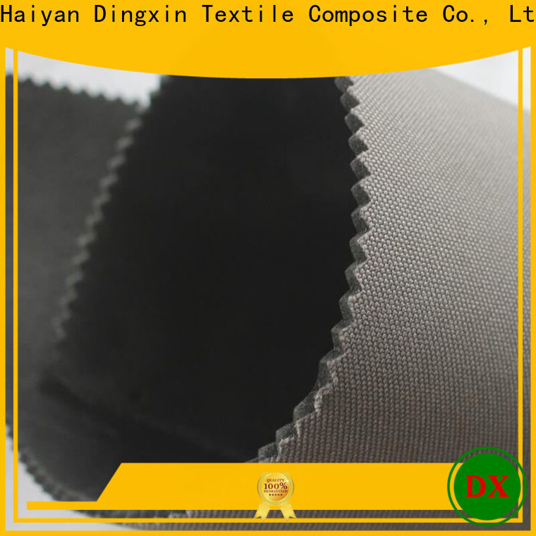 Dingxin bonded knit fabric characteristics for business for making tents