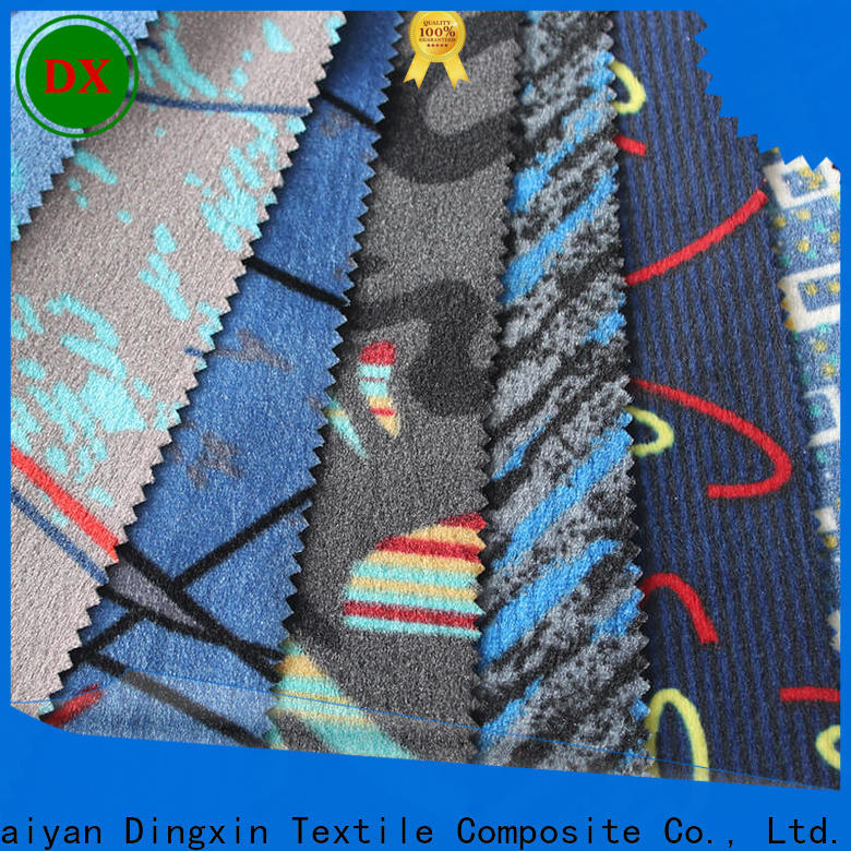 Dingxin High-quality bus seat upholstery fabric factory for car seat