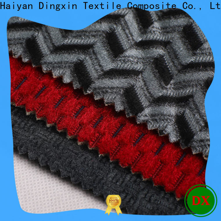 Dingxin Latest organic chenille fabric company for car manufacturers