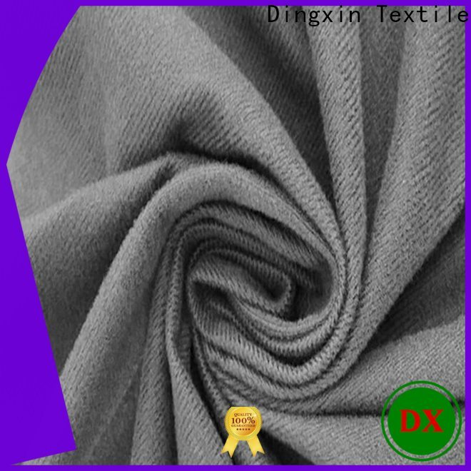 Dingxin black crushed velvet upholstery fabric Suppliers for dust remove brush