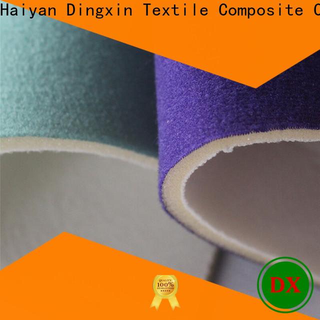 Dingxin slub velvet fabric Suppliers for making home textile