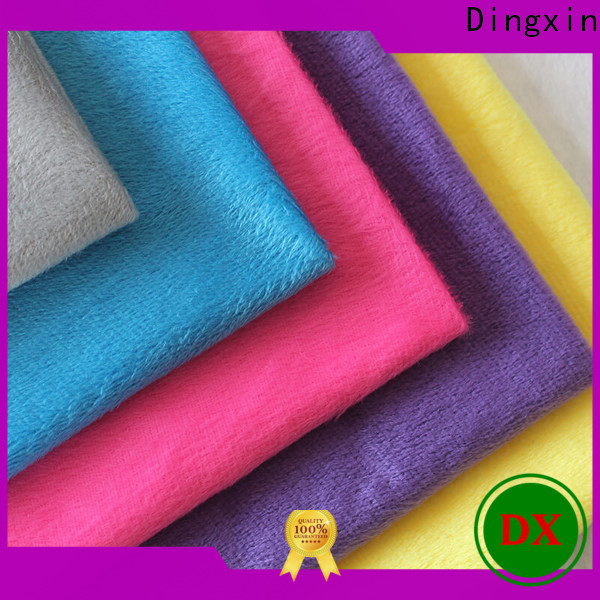 High-quality black crushed velvet fabric manufacturers for dust remove brush