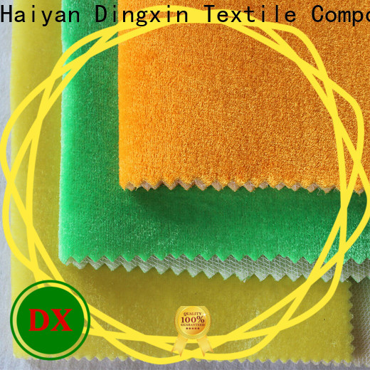 Custom polyester velour Suppliers used to make sofa cushion