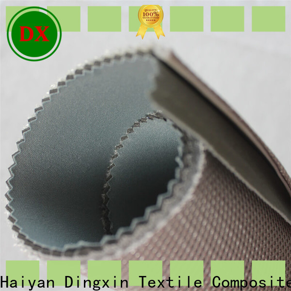 Dingxin Latest wet laid nonwoven process for business for home textiles