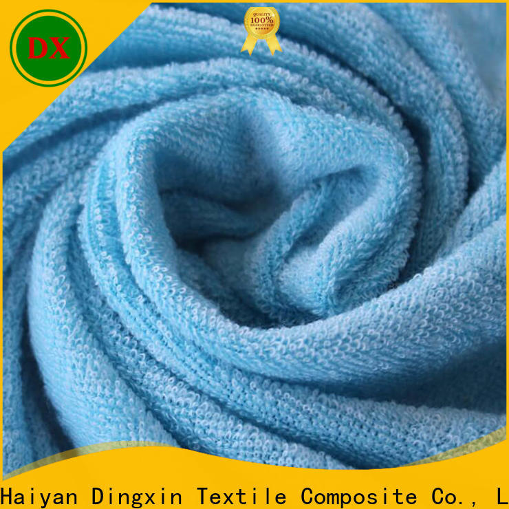 Dingxin white cotton jersey fabric company to make towels