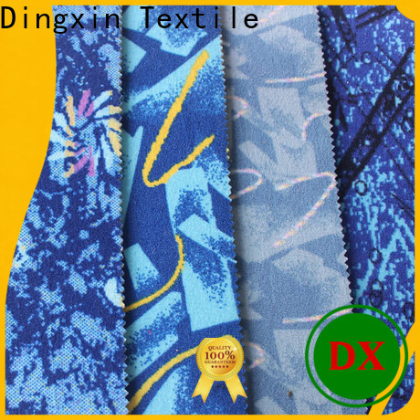 Dingxin Wholesale train seat fabric Supply for bus manufacturers
