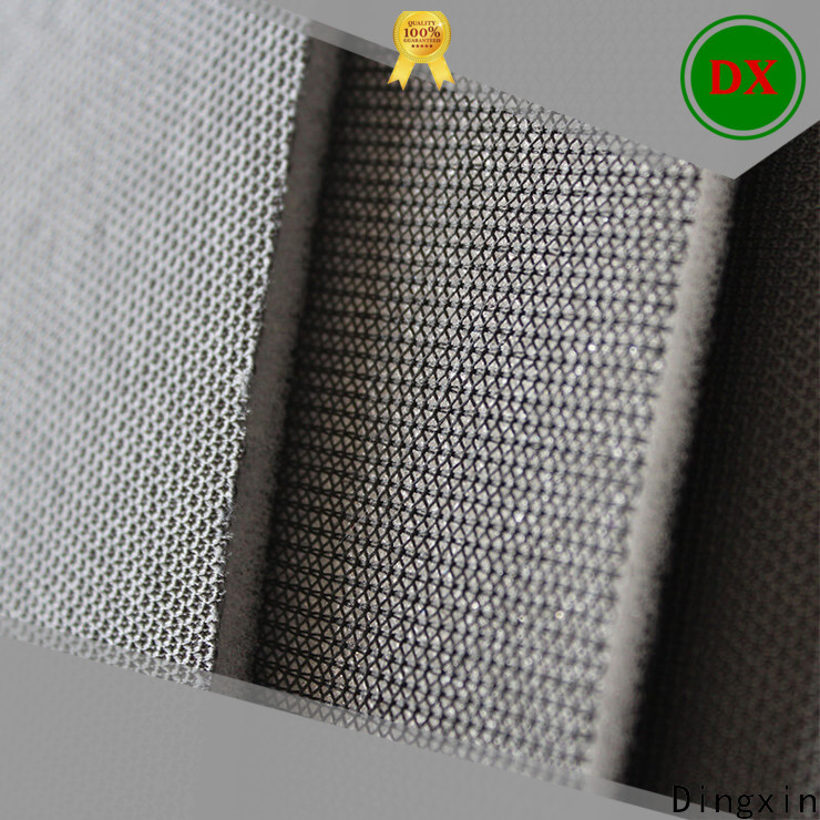 Dingxin foam backed fabric manufacturers for bus roof