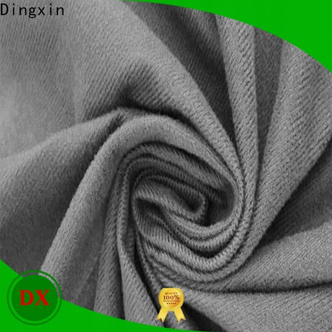 Dingxin Custom peacock velvet fabric Supply used to make sofa cushion