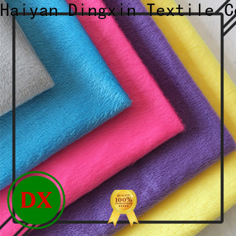 Dingxin Wholesale cotton velour fabric Supply used to make sofa cushion