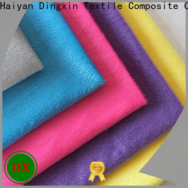 Dingxin grey crushed velvet upholstery fabric for business for seat cover