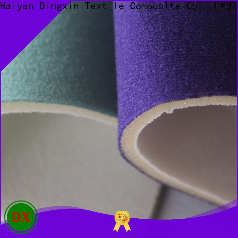 Dingxin Latest cotton velour fabric by the yard company for making home textile
