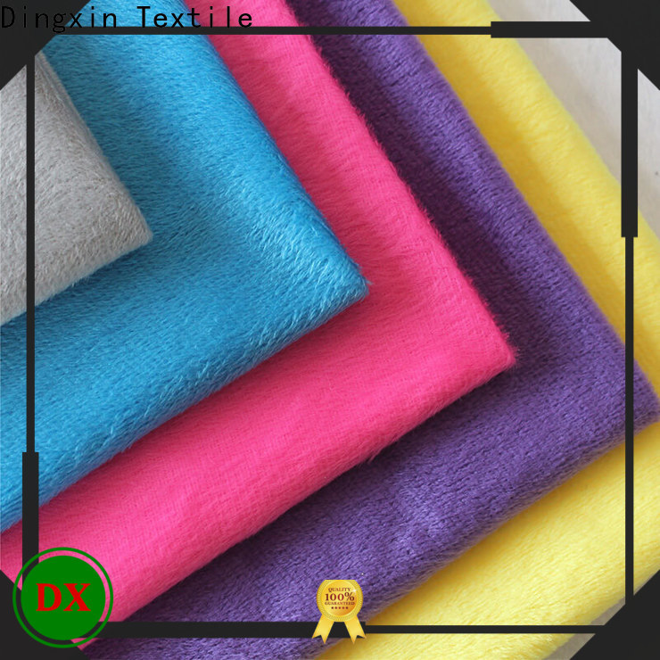 Dingxin velvet apparel fabric company for seat cover