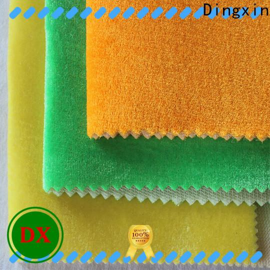 Dingxin Latest velvet fabric roll factory for dust remove brush